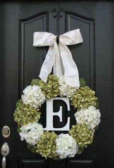 Wedding Wreaths Wedding Decorations Personalized by twoinspireyou