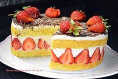 Торт клубничный Fraiser