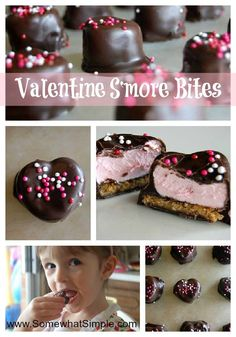 valentine smore bites