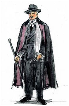 On the Twentieth Century (Oscar Jaffee). Costume design by William Ivey Long. Ballet Fashion, Costume Design, The Twenties, Theatre, Sketches, Design Inspiration, Costumes, Opera, Models