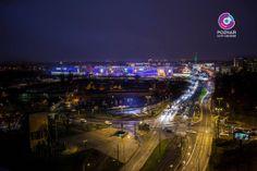 Poznań City Center nocą <3