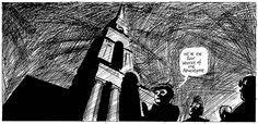 From Hell- El gurú británico Alan #Moore, guionista de algunas de las obras mas reconocidas en este género en colaboración con el ilustrador Eddie Campbell, crea una historia alternativa sobre la matanza perpetrada por Jack el Destripador. Una sórdida historia desarrollada en el Landres victoriano en el que la realeza se ve implicada en la investigación policial. Misterio y hermetismo son la columna vertebral de esta obra, también adaptada al cine con poca fortuna. #FromHel