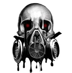 Gas Mask Tattoo | Pin Gas Mask Skull Tattoo Artistsorg on Pinterest