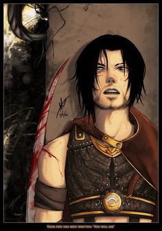 Very pity prince of persia famous comics