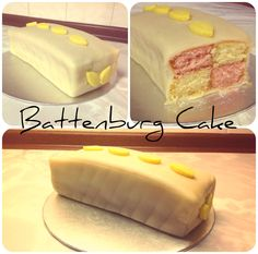 greatest cake of all time. Food History Jottings: Battenburg Cake ...