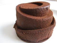 Gâteau base Mousse au chocolat...il suffit de trouver le moule !