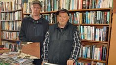 He has more than 40,000 books, runs at a loss and can't read any more. So, how does Edwin MacKay keep his shop open?