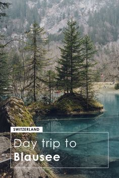 A day trip to Blausee, Switzerland - Bronwyn Townsend Photography