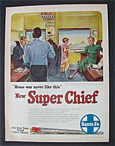 1951  Santa  Fe  Super  Chief