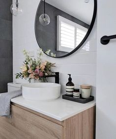 23 Stylish Bathroom Remodeling Ideas Youll Love 2019 Cool 47 Cute But Creative Small Bathroom Décor Ideas. # The post 23 Stylish Bathroom Remodeling Ideas Youll Love 2019 appeared first on Bathroom Diy. Bathroom Renos, Laundry In Bathroom, Bathroom Renovations, Bathroom Interior, Remodel Bathroom, Bathroom Black, Master Bathroom, Bathroom Modern, Upstairs Bathrooms