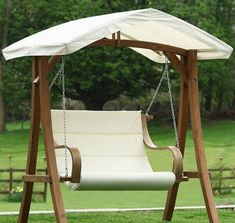 porch swings with canopy