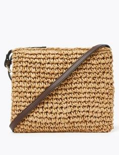 Buy the Straw Cross Body Bag from Marks and Spencer's range. Luxury Nightwear, Egyptian Cotton Towels, Rosie For Autograph, Alcohol Gifts, Experience Gifts, The Night Before Christmas, Bra Shop, Last Minute Gifts, Straw Bag