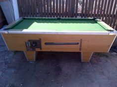 Cheap Coin Operated Pool Tables Pool Table Accessories, Pool Tables, Table Designs, Poker Table, Coins, Furniture, Home Decor, Decoration Home, Rooms