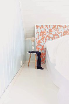 Bedroom, orange, blue, thibaut Bedroom Orange, Blue, Home Decor, Homemade Home Decor, Interior Design, Home Interiors, Decoration Home, Home Decoration, Home Improvement