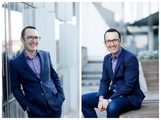 Relaxed natural environmental corporate portraits. Perfect for consultants who work in the corporate environment.   Photographed in Docklands, Melbourne