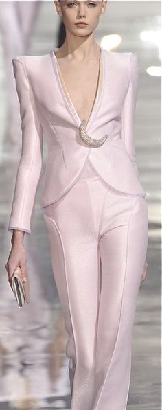 Armani Prive....nice pastel pink - Love it! http://www.pinterest.com/mjoyingitall/an-upscale-life/