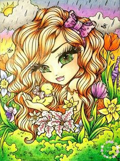 Colouring Pages, Coloring Books, Pretty Pictures, Pretty Pics, Hannah Lynn, Whimsical Art, Gothic Girls, Big Eyes, Halloween
