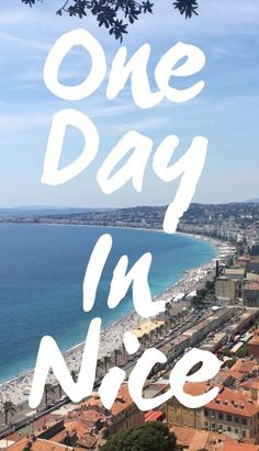 Nice itinerary one day Nice is amongst the largest tourist destinations in France. With 7 kilometres of stretched Mediterranean coastline, Nice is a warm and a… Places Around The World, Travel Around The World, Around The Worlds, World Of Wanderlust, Nice France, Travel List, One Day, Adventure Travel, Travel Photos