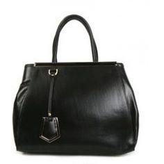 VALENTINE BLACK leather structured handbag by Sterling & Hyde