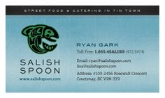 Salish Spoon BizCard Back