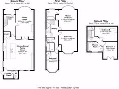 3 Bed House Floor Plan Rear Extension Google Search House