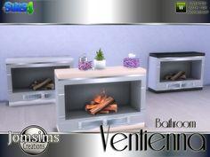 jomsims' Ventienna fireplace