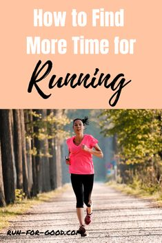 """If you find yourself saying, """"I don't have time to run"""" frequently, try some of these strategies to find more time for running. #runningmotivation #exercisemotivation #timetorun Workout At Work, Fit Board Workouts, Fun Workouts, Running Tips Beginner, Hiit Workouts For Beginners, Running Training, Training Tips, Running Motivation, Fitness Motivation"""
