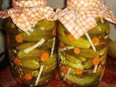 Reteta culinara Castraveti murati traditionali din categoria Muraturi. Cum sa faci Castraveti murati traditionali Gifts, Canning, Presents, Favors, Gift