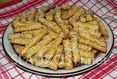 Sezamové tyčinky se šunkou a sýrem Apple Pie, Pretty, Desserts, Food, Tailgate Desserts, Apple Cobbler, Deserts, Eten, Postres