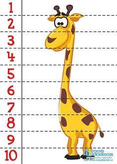 Preschool Both Teach Numbers … Educational Activities, Learning Activities, Kids Learning, Number Puzzles, Maths Puzzles, Kindergarten Worksheets, Preschool Activities, Teaching Aids, Math For Kids
