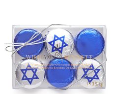 Hanukkah gift for the hostess: Gourmet chocolate Hanukkah oreo box from Dylan's Candy Store