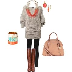 Fall and Oversized Sweaters #fall #fashion