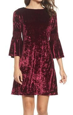 These Are Our Favorite Velvet Dresses Of The Season