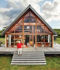 Jens Risom's house / photo by Floto + Warner.