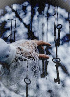 One will unlock the chains, only one. Choose carefully, for the first one you touch is the only one you can keep.