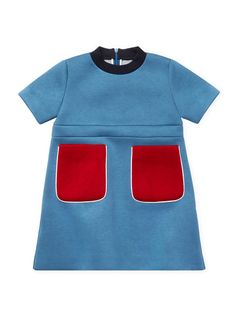 Contrast Pockets Neoprene Dress by Marni at Gilt