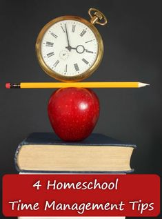 Four Great Tips to Really Get a Better Grasp on Your Homeschooling Time Management