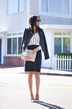 How to Transition Your Look from Work to Night #theeverygirl #9to5Chic