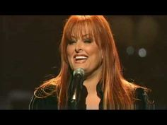 "That time Wynonna Judd beautifully sang ""I Can Only Imagine"" 
