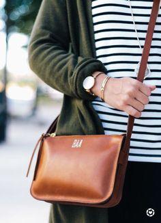 Madewell Simple Crossbody Bag. Fall fashion accessory, cognac bag. #fallfashion2017 #accessories #crossbodybagtobuy