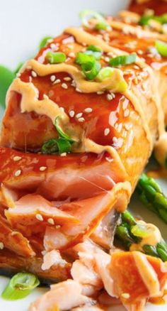 Salmon Teriyaki Recipe ~ Quick, easy and tasty salmon teriyaki in a homemade teriyaki sauce