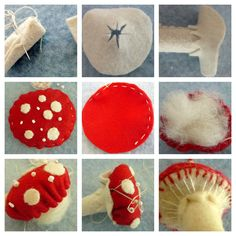 There are many versions of making a toadstool, especially the lucky or magic variety such as the one that is depicted above and also in my banner. Amanita muscaria, or the fly agaric mushroom, is ...