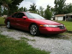 Lincoln Mark VIII- I owned a car just like this.  Color Garnet.  My favorite car by far.
