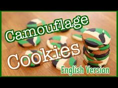 """In this video, I show you how to do Camouflage Cookies. If you want to see my videos in French please go check out my French Channel """"CARL IS COOKING"""" Here i..."""