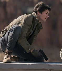"New ""The Death Cure"" still - Thomas - Dylan O'Brien"
