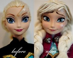 Elsa doll ---- Freezing Anna by Lulemee...this is gorgeous!