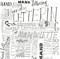 "lettering"""