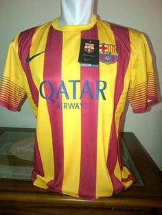 Jersey Barcelona Away Terbaru 2014