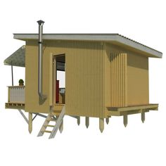 Tiny house plans with construction process complete set of plans construction progress + comments complete material list + tool list DIY building cost$9,590 FREE sample plans of one of our design