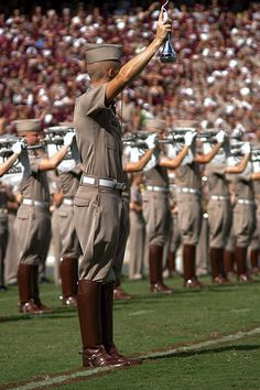 Aggie Drum Major